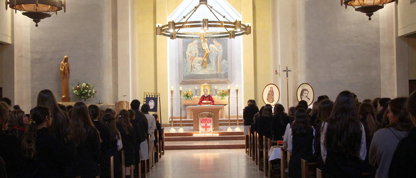 Identidad católica colegio santa úrsula vitacura