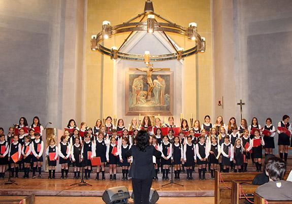 coro colegio santa úrsula vitacura