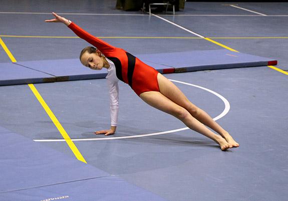 gimnasia artística colegio santa úrsula de vitacura
