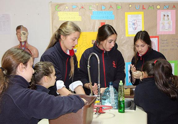 laboratorios colegio santa úrsula de vitacura