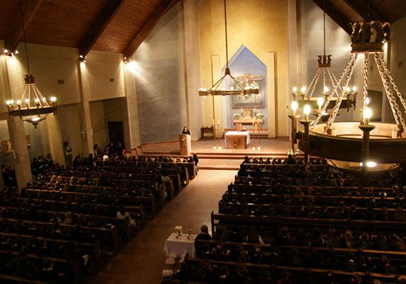 Iglesia colegio santa úrsula de vitacura