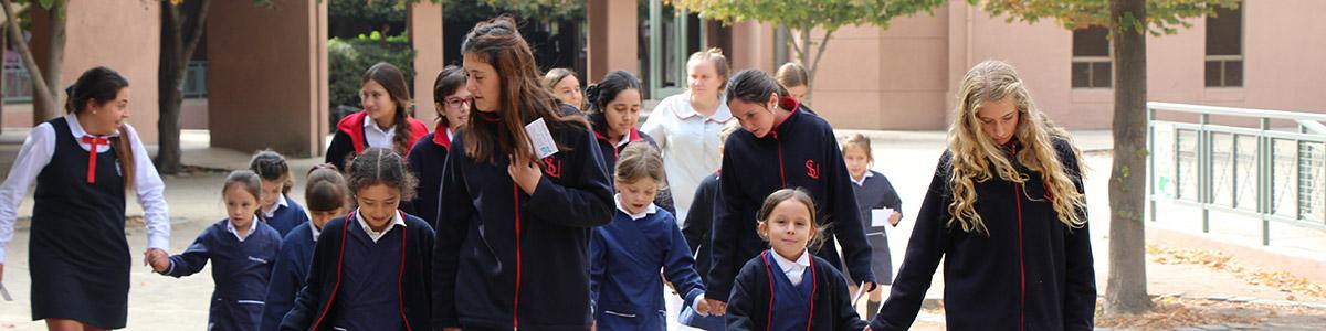 colegio santa úrsula de vitacura ceremonia del vuelo